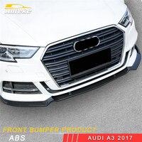 ANTEKE для Audi A3 2017 стайлинга автомобилей переднего бампера Защита внешние аксессуары