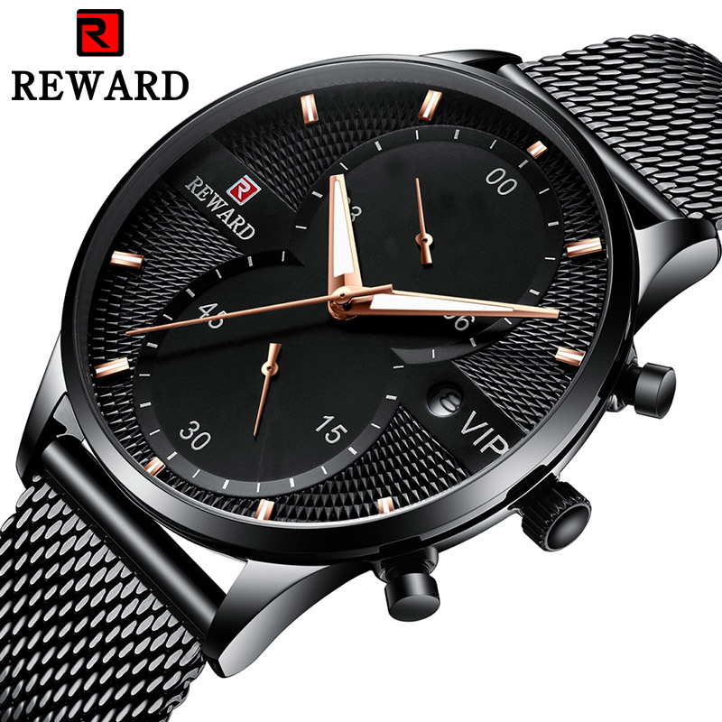 2019 Business Mens Watches Top Brand Luxury Casual Watch Mesh Steel Date Waterproof Quartz Watch for Men Clock Relogio Masculino2019 Business Mens Watches Top Brand Luxury Casual Watch Mesh Steel Date Waterproof Quartz Watch for Men Clock Relogio Masculino