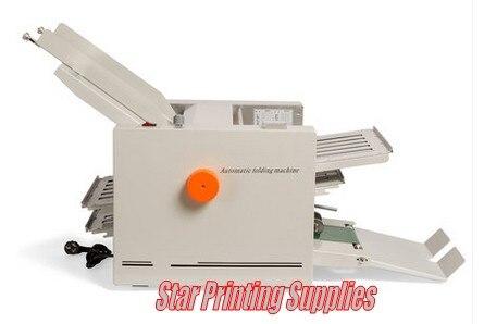 Автоматическая складная машина для бумаги, макс. для A3 бумаги, высокая скорость, 2 складных лотка, большая рабочая нагрузка для руководства п...