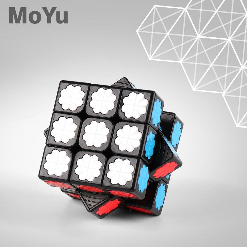 Newest MoYu Black Crystal Cube 3x3x3 Mofangjiaoshi 3x3 Magic Cube Cubing Classroom Speed Cube Educational Kid Toys Drop Shipping
