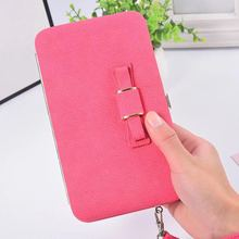 New purse wallet female famous brand card holders cellphone pocket gifts for women money bag clutch A3