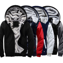 USA SIZE 2016 Men Winter Autumn Hoodies Blank pattern Fleece Coat Baseball Uniform Sportswear Jacket wool make to order designs