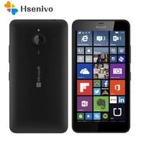 Оригинальный Nokia microsoft Lumia 640/640XL четырехъядерный 8 Гб ПЗУ 1 ГБ ОЗУ разблокированный мобильный телефон 4G wifi gps 13MP сотовый телефон Бесплатная дос...