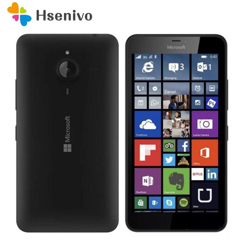 Original Nokia Lumia 640 Microsoft/640XL Quad-core 4 1 8 GB ROM GB RAM Desbloqueado Telefone Móvel G WI-FI GPS 13MP Telefone Celular navio Livre