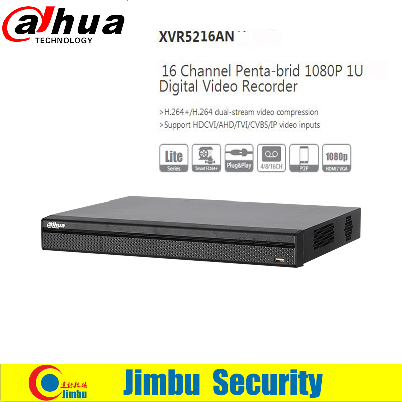 DAHUA New arriving XVR5216AN Channel 1080P 1U Digital Video Recorder Support HDCVI AHD TVI CVBS IP