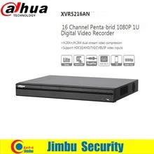 DAHUA New arriving XVR5216AN Channel 1080P 1U Digital Video Recorder Support HDCVI/ AHD/TVI/CVBS/IP video inputs 1 SA