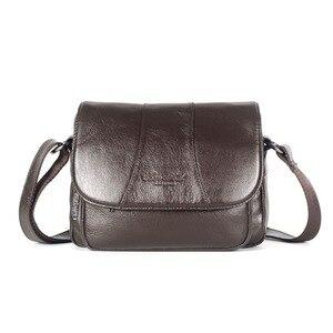 Image 1 - Echt Leer Beroemde Designer Vrouwen Crossbody Tassen Kleine Messenger Bags Reizen Schoudertassen Voor Dames Handtassen Tote Purse