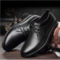 Осень 2017 новый бизнес мужские кожаные ботинки, босоножки, шлепанцы молодости кожи повседневная мужская обувь