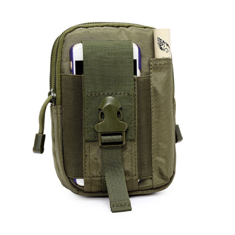 Men Women Outdoor Tactical Waist Pack Bag EDC Camping Hiking Climbing Pouch Cover Holder Case Hot Sale
