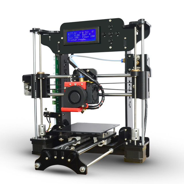 Optional best Extruder Reprap Prusa i3 3d printer print speed 20-150mm/s DIY kit Selectable Filament SD Card LCD free shipping