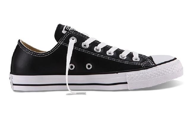 5f3855f3aa6 100% original Converse all star Chuck Taylor pu leather canvas shoes men  women sneakers low classic Skateboarding Shoes 132174