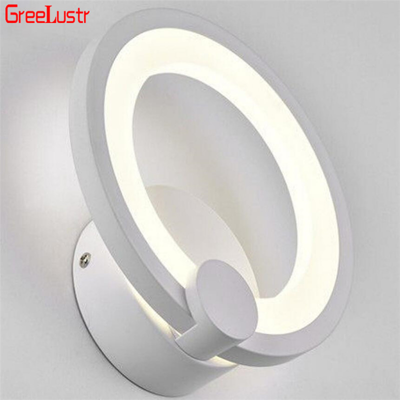 Modern 16W Led Wall Lamp Wall Sconce  Acrylic Wall Lights Contemporary Wall Mounted Bedside Lamp Decoration Lighting Fixture