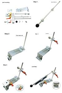 Image 5 - Edge Knife sharpener system reversal clip Cross slider Double row clip Advanced version