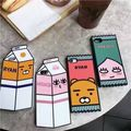 Korea Kakao Friends Ryan milk box candy for iphone7 7plus 6s silicone mobile phone case