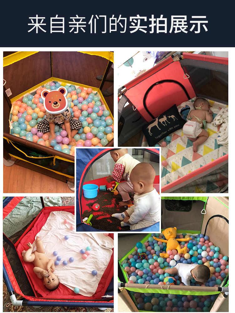 Multifunctional baby play รั้วเด็กรั้วป้องกันเด็กทารกเด็กวัยหัดเดินรั้ว crawling mat indoor playground