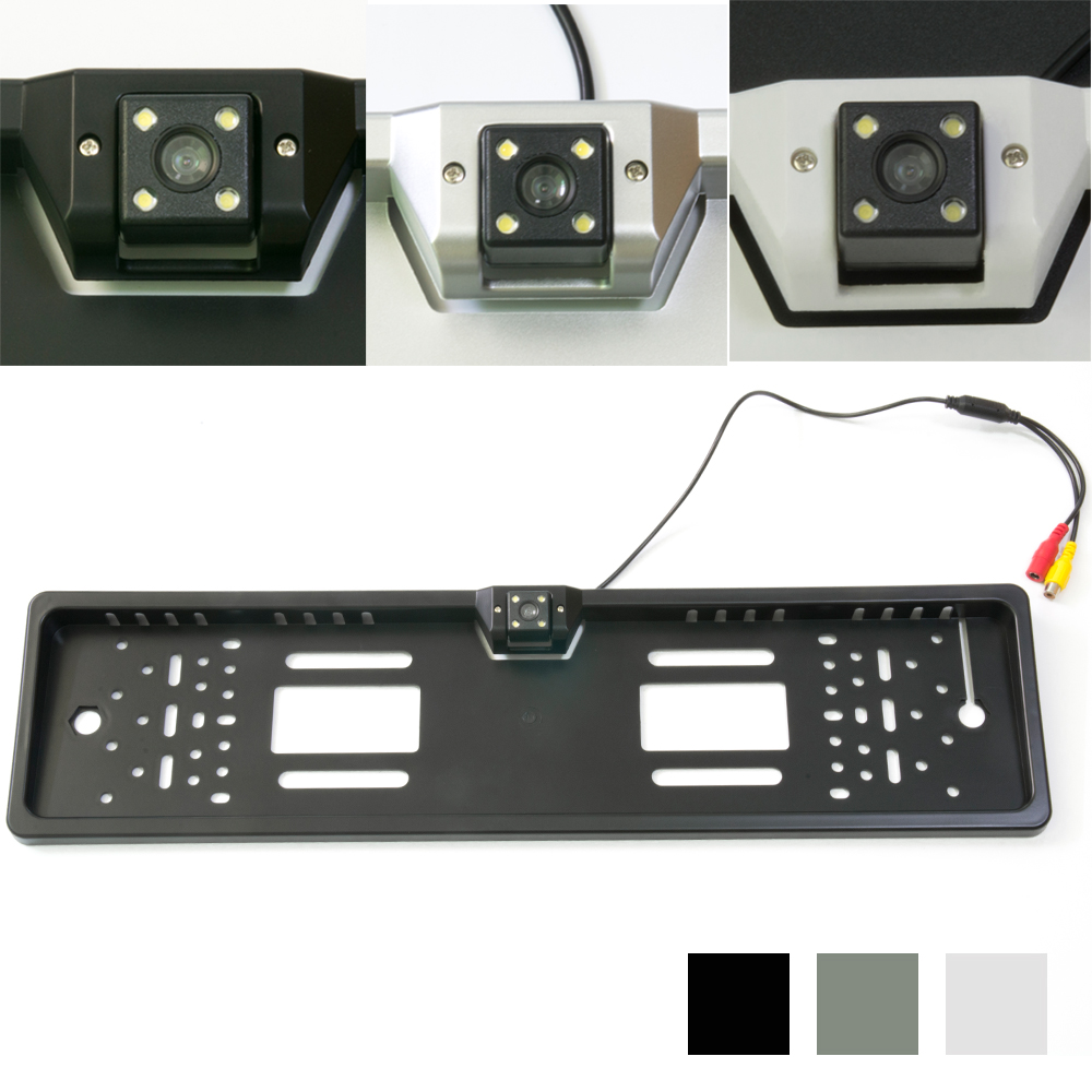 Size 545mm*141mm Night Vision European License <font><b>Plate</b></font> Frame <font><b>Car</b></font> Number with CCD Rear View RearView Camera Reverse Parking Camera