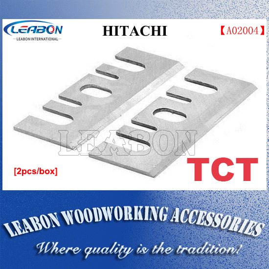 LEABON 2 Pcs 82mm  TCT  Electric Planer Blades/ Planer Cutter / Woodworking Tools for Hitachi 1
