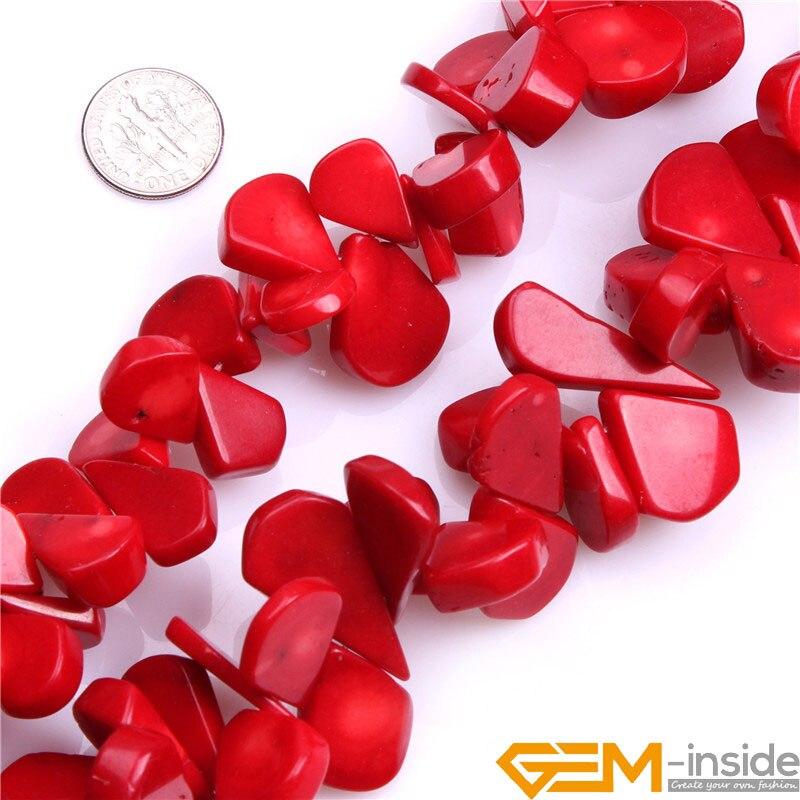 af911d1a8ee93d Rouge Corail Perles Pour Bijoux Faire Des Perles DIY Perles Pour Bracelet  Ou Collier Faisant de Gros Strand 15 Livraison Gratuite