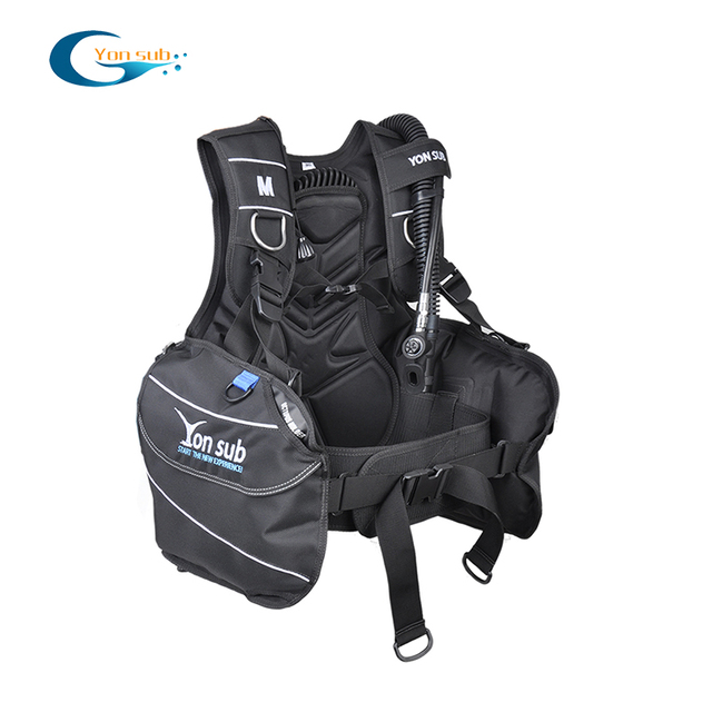 YONSUB BCD Jacket Fully Accessorized Scuba Diving Buoyancy Compensator for Beginner with Quick-Release Weight Integrated Pocket