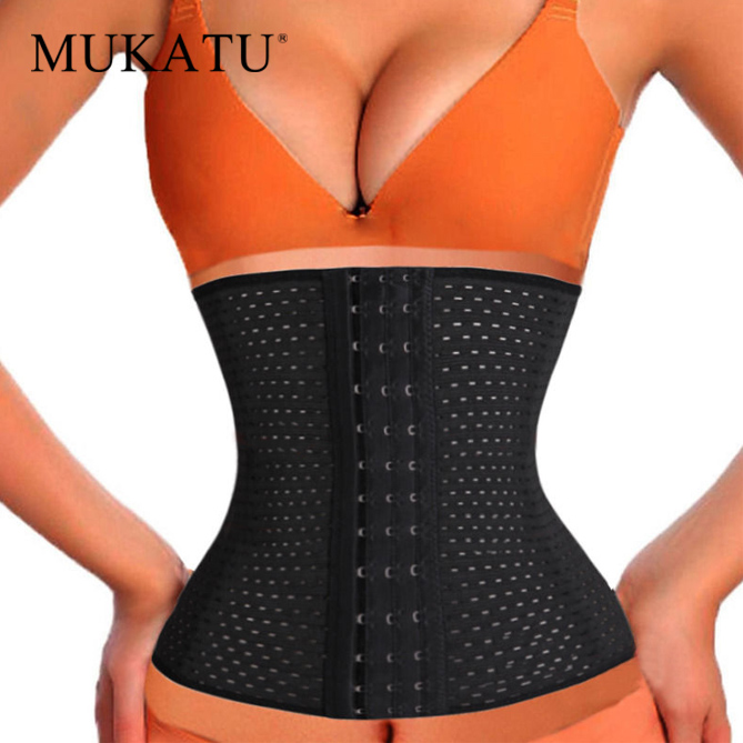 MUKATU waist trainer body shaper Belt Slimming Corset