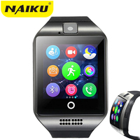 NAIKU Bluetooth NK18 Smart Watch Relogio Android Smartwatch Phone Call SIM TF Camera For IOS IPhone