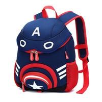 Waterproof Preschool Bags for Boys Mini School Bags for Girls 3D Cartoon Baby Backpack Kids Bag Anti lost Toddler Bag
