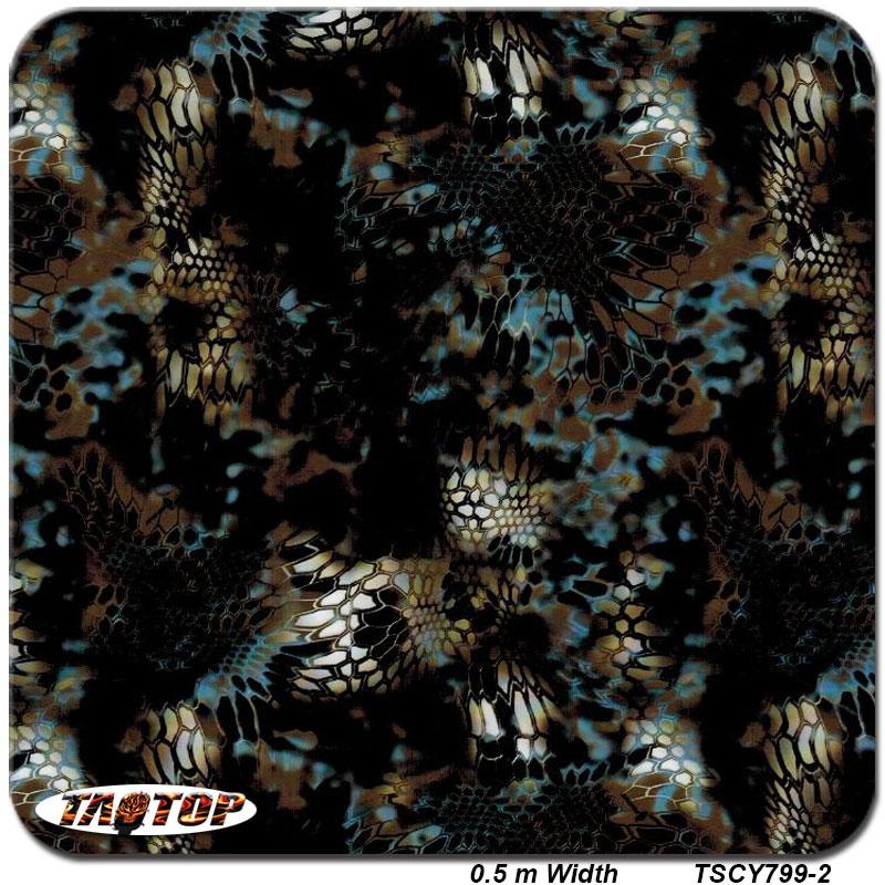 TSCY799-2 Top Quality Pattern Skin Snake  PVA Water Transfer Printing Film Hydrographic Film