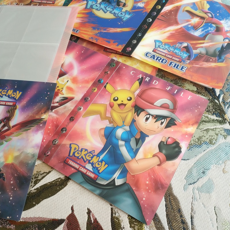 240pcs Handheld Collection Album Book Card Cover For Pokemon Ex Gx Cards