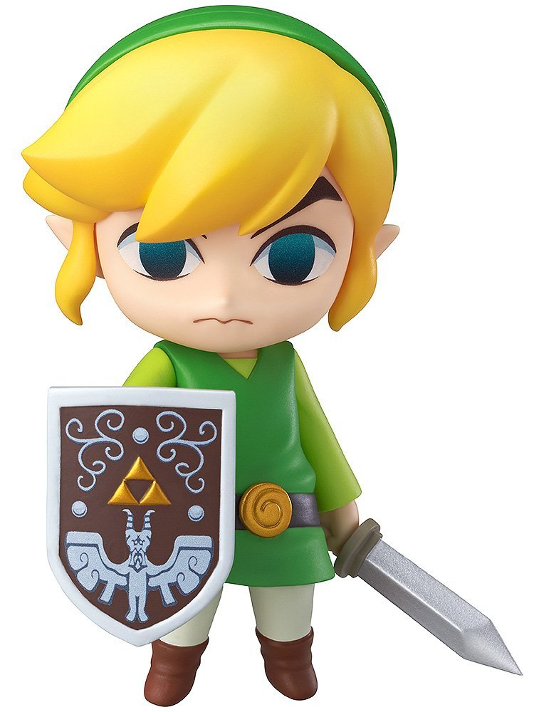 Good Smile The Legend of Zelda Wind Waker Link Nendoroid Action Figure  nendoroid the legend of zelda link majora s mask 3d figure with original box