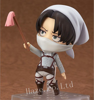 Attack On Titan Levi Nendoroid PVC Figure Figurine Model 10cm