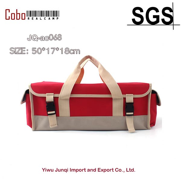 BBQ Bag Heavy Weight Bags Barbecue Camping Storage Outdoor Tool Cotton Canvas