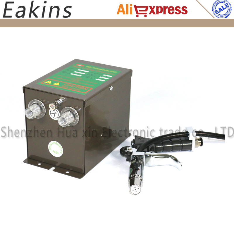 SL-007 High Voltage Generator Static Eliminator +1 pcs SL-004 Ionizing Air Gun ESD Ionizer Blowers 110V or 220V цена