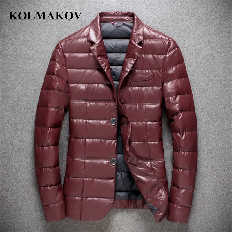 2018 New Parka Men's   down     Coats   Winter Jacket Men Slim fit Thicken Warm Parkas   Coat   Brand Clothing Casual Mens   Coat   Homme M-4XL