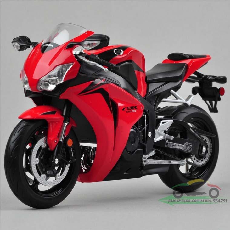 high quality wiley  honda cbr rr honda motorcycle model toys car classic alloy antique