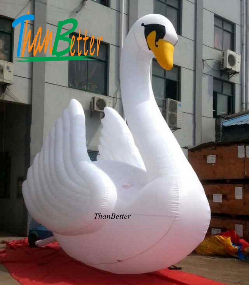 3M Custom Giant Inflatable Swan Model Inflatable Cartoon