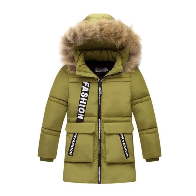 2e3fe4e9eb Giacca invernale Per Il Ragazzo Abbigliamento da Neve di Inverno dei bambini  Giubbotti Imbottiture Imbottito Abbigliamento