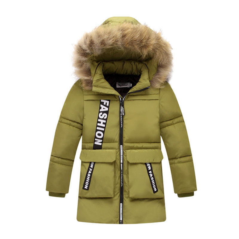 Winter Jacket For Boy Snow Wear Children's Winter Jackets Down Padded Children Clothing 2017 Boys Warm Coat Thickening Outerwear children winter coats jacket baby boys warm outerwear thickening outdoors kids snow proof coat parkas cotton padded clothes