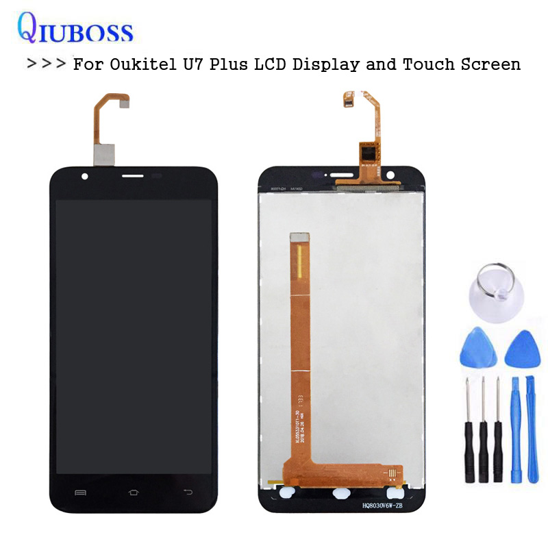 For Oukitel U7 Plus LCD Display and Touch Screen Assembly Mobile Phone Accessories With free Tools