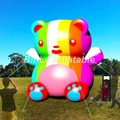 Хит продаж  украшение для события  красочная надувная копия мультяшного медведя для вечеринки