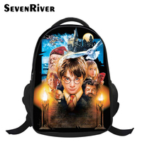 16 inch Harry Potter Backpack Teenagers Children Cartoon School Bags For Boys Printing Daypack Harry Potter Bag kids Girls