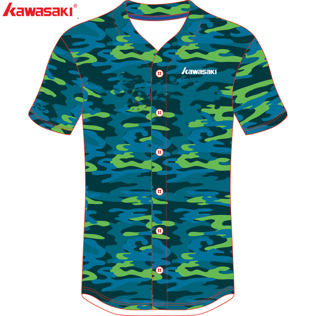9f61f4ea8 Kawasaki Brand Custom Fans Mens& Women Stripes Baseball Jersey Top 100%  Polyester Softball Game Shirt
