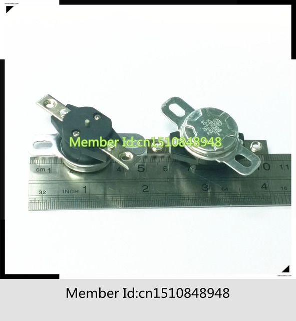 N C KSD305 55C Degree Thermal Protector 40A 250V 55 Temperature Switches KSD 305