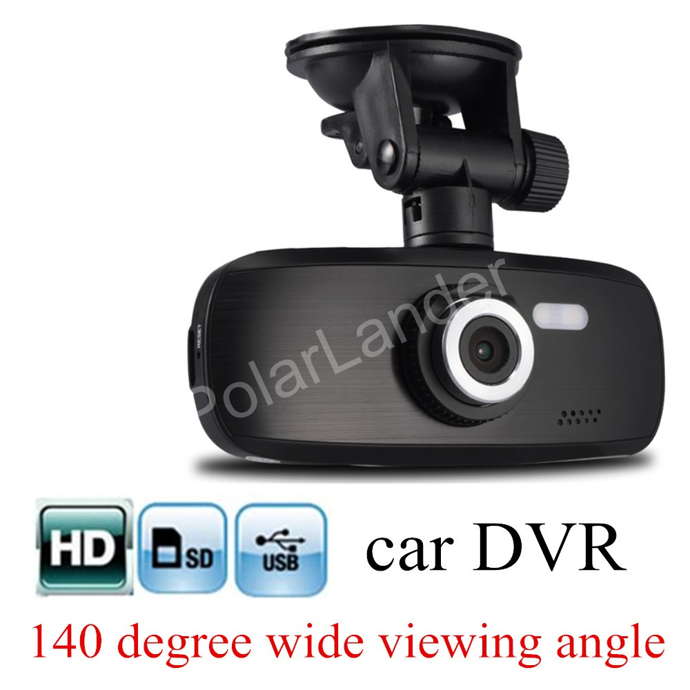 2.7 inch LCD screen Car HD DVR Video Recorder Camera G1W Vehicle traveling Recorder G-Sensor Motion Detection free shipping
