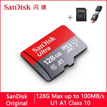 Sandisk Ultra Micro SD 128 GB 32 GB 64 GB 256 GB 16G 400 GB karty Micro SD SD TF karty pamięci Flash karty pamięci 32 64 128 gb microSD do telefonu tanie i dobre opinie Class 10 UHS-1 U1 A1 microSDXC microSDHC Memory card CN (pochodzenie) Tf micro sd card 8 GB 16 GB 32 GB 64 GB 128 GB 200 GB 256 GB 400 GB 512 GB 1 TB