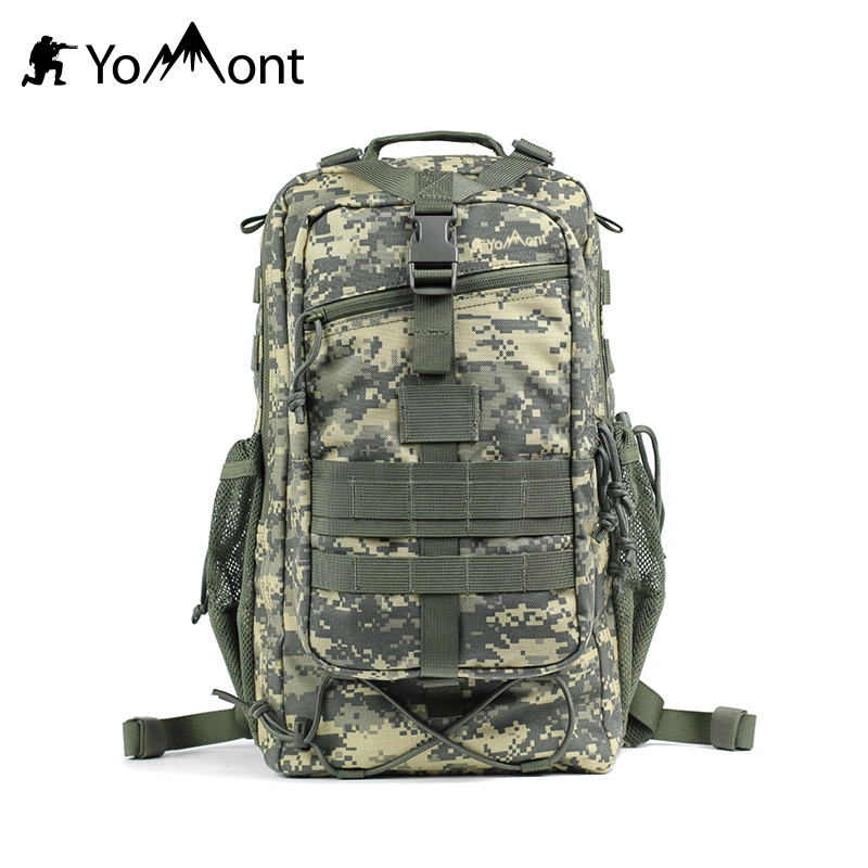 YoMont 35L Military Waterproof Army Backpack Tactical Backpack Aussalt Army B 35l waterproof tactical backpack military multifunction high capacity hike camouflage travel backpack mochila molle system