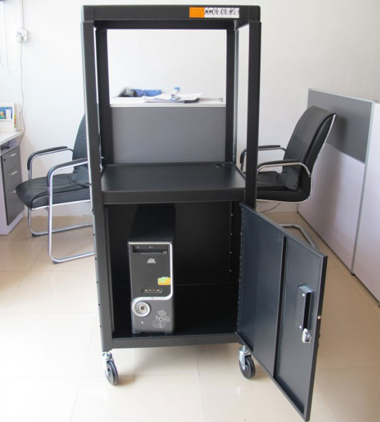 цена на Projection cart Instrument cart Teaching equipment cart Hotel projection cart With cabinet