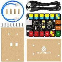2019 nuovo! Keyestudio RJ11 FACILE di Plug Aggiornamento della Scheda di Controllo Principale V2.0 Controller + Cavo USB per Arduino A VAPORE