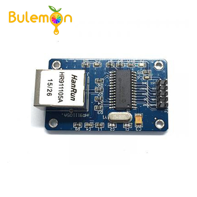 5PCS NEW MiNi ENC28J60 Ethernet LAN Network Module For Arduino SPI AVR PIC LPC