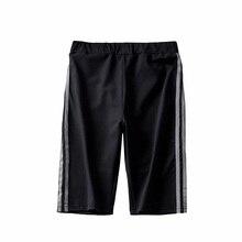 дешево!  ZYFPGS 2019 женские брюки две серые линии женские брюки карандаш прозрачный Slim Fit дизайн светоотр Лучший!