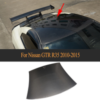 Carbon Fiber car Roof Cover For Nissan GTR GT R R35 2009 2010 2011 2012 2013 2014 2015 2015 Car Styling